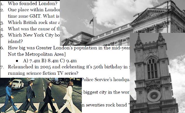 PubQuiz London